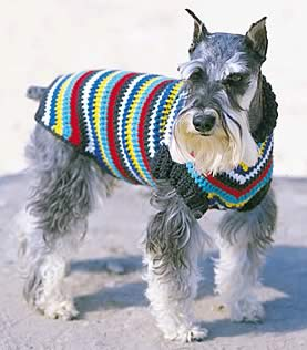 Dog-Eared Sweater Knitting Pattern | Red Heart
